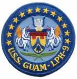 USS Guam patch