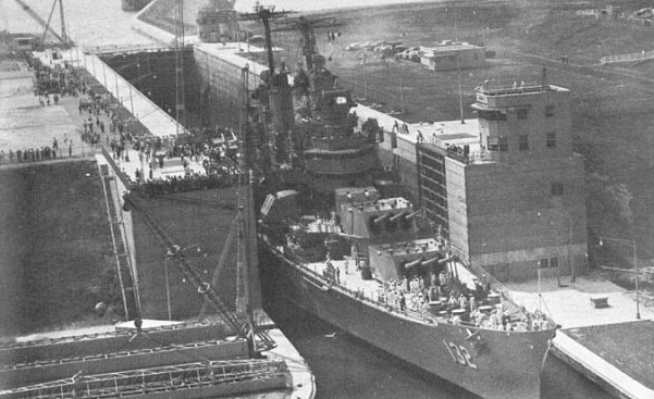 USS Macon - Esclusa Eisenhower