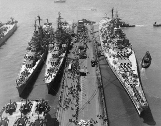USS Macon - USS Albany - USS Missouri