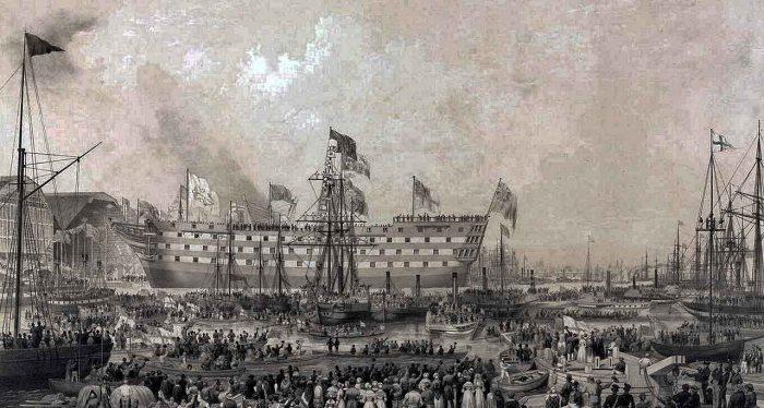 Botadura HMS Trafalgar