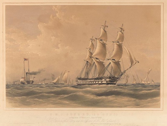 H.M.S Superb, PY0920