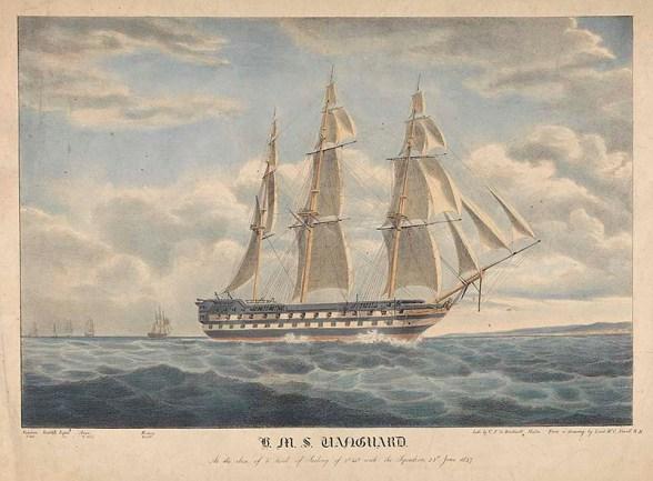 H.M.S. Vanguard, PY0860