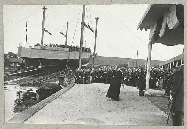 Botadura Niels Juel 1918 - Rigsarkivet