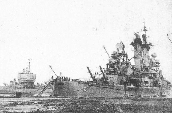 USS Albany - USS Long Beach - LV