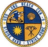 USS Long Beach insignia