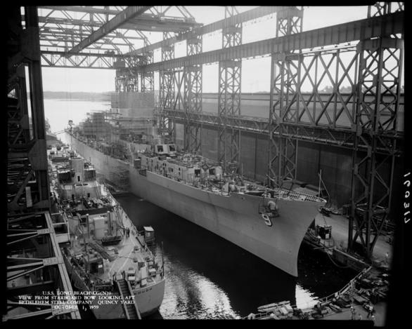 USS Long Beach - NARA
