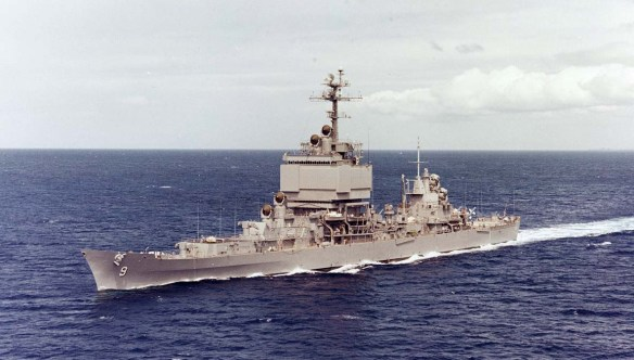 USS Long Beach - NHC