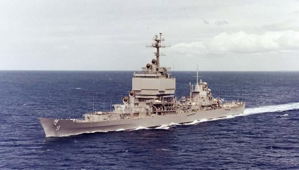 USS Long Beach - NHC
