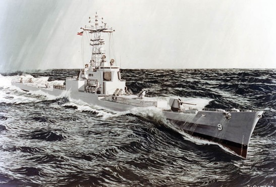 USS Long Beach refit - NHC