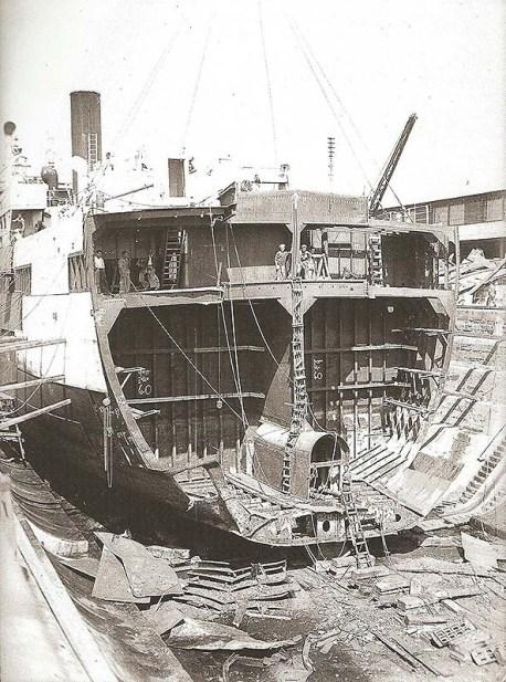 SS Empire Morn - Cadiz 1947