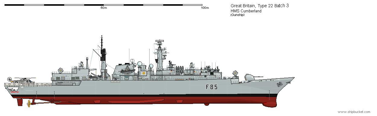 HMS Cumberland perfil - SHPBKT