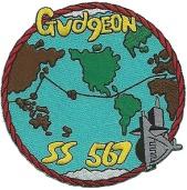 USS Gudgeon parche
