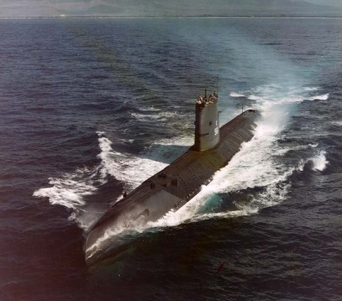 USS Tang SS-563 - NHC