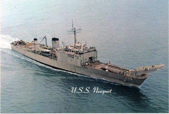 USS Newport - NVS