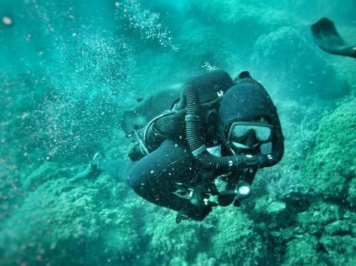 Buzo Armada - Rebreather Crabe