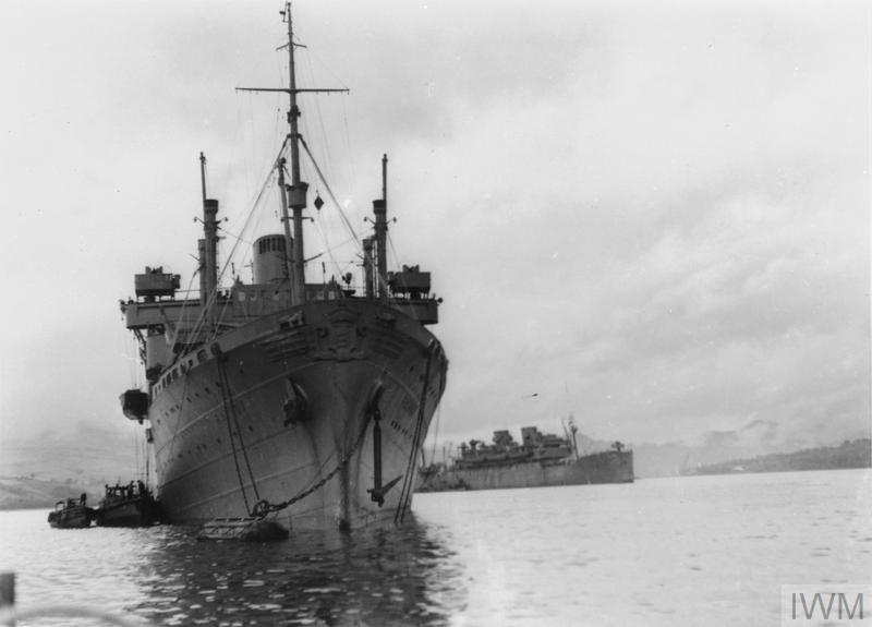 HMS Batory 01 - IWM