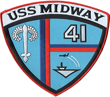 USS Midway patch