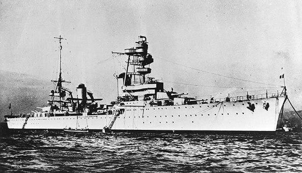 Crucero Foch - WK