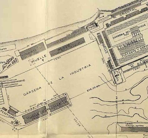 Mapa Port 1930