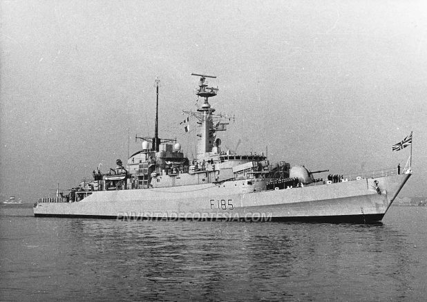 HMS Avenger F185 01 - JMF - 09-03-1981
