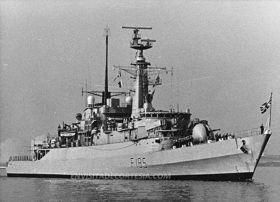 HMS Avenger F185 02 - JMF - 09-03-1981