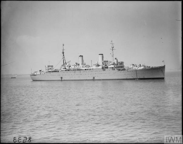 HMS WOLFE