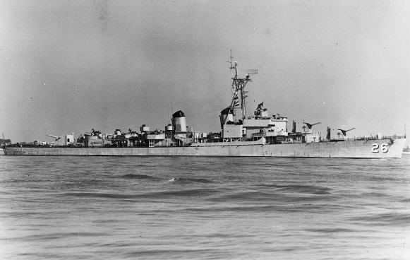 USS Harry F. Bauer DM26 01 - 1952 - NHC