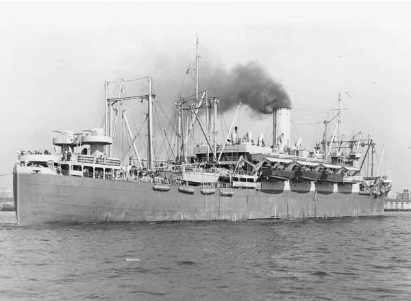 USS Hugh L. Scott AP-43 - NVSC