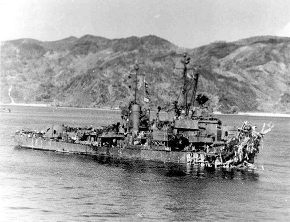 USS Lindsey DM32 - 1945 - NVS