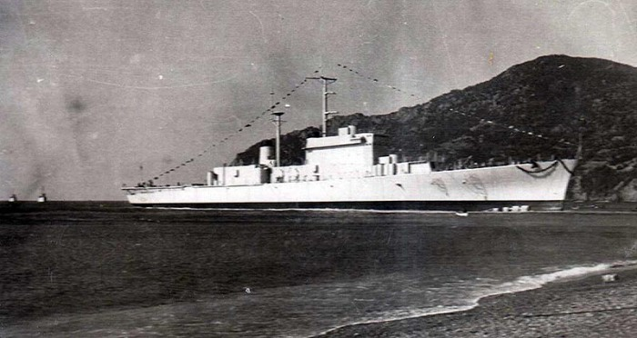 Andrea Doria botadura - Marinai
