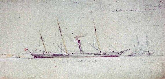 HMS Beagle 1854 - NMM