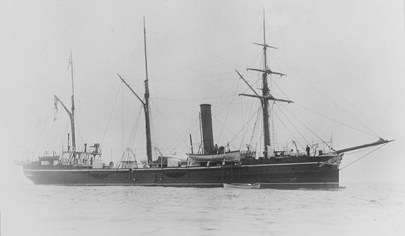 HMS Beagle 1889 - NHC