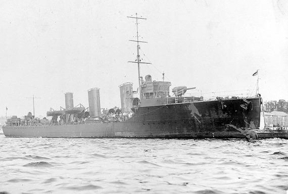 HMS Beagle 1909 - NHC