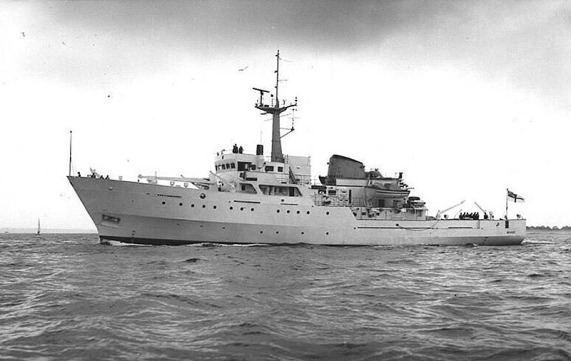 HMS Beagle A319