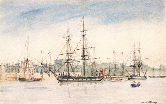 HMS Beagle - Darwin
