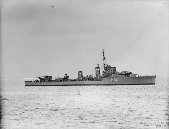 HMS Beagle H30 1930 - IWM