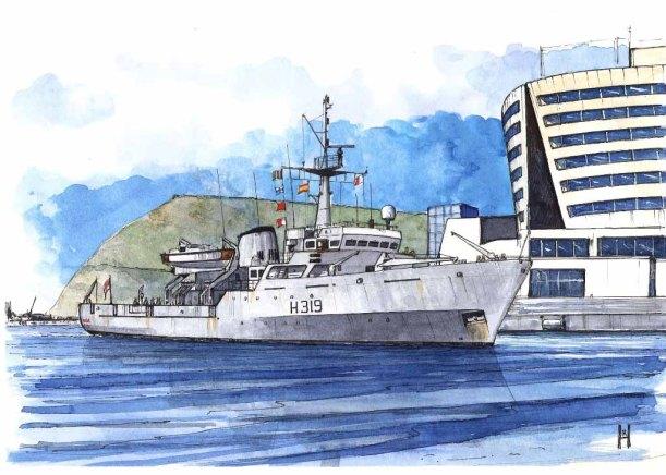HMS Beagle H319 - RH