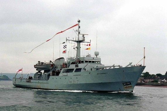 HMS Bulldog H317 - MOD-UK