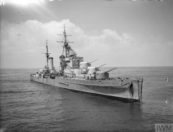 HMS Dido - IWM