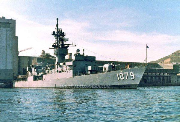 USS Bowen FF1079 - 1979 - JMF