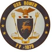 USS Bowen seal