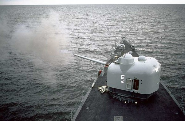 USS Capodano FF1093 - Mk42