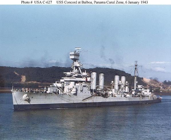USS Concord CL10 01 - NHC