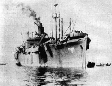 USS Dauphin - Exochorda - NVS