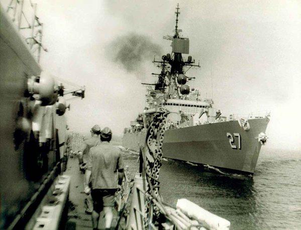 USS Josephus Daniels CG27 06 - 30-07-1976 - NVS