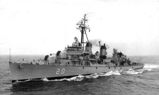 ARA Almirante Brown D-20 - NVS