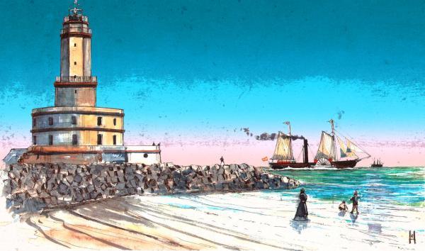 Faro del Llobregat - Vapor Barcelones - RH