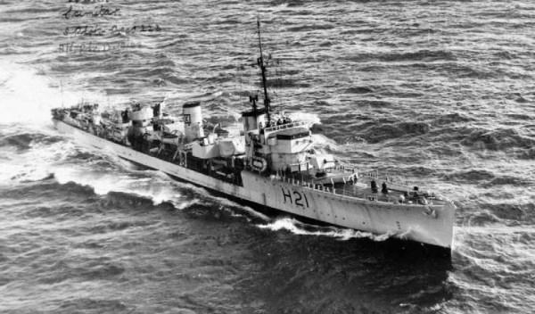 HMS Scimitar - WK