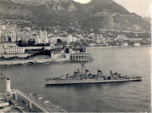 USS Heermann DD-532 - Monaco