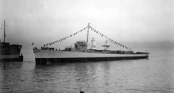 USS Heermann DD-532 - NHHC